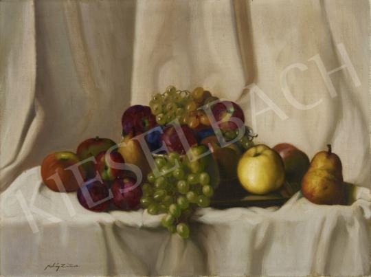Eladó Molnár Z. János - Őszi gyümölcscsendélet festménye