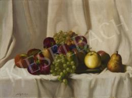 Molnár Z. János - Őszi gyümölcscsendélet