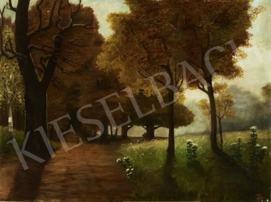 Eladó Somorjai Jenő - Őszi hangulat (Normafa) festménye