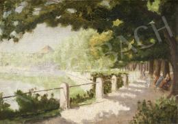 Kopits János - Sunny Walkway, c. 1930
