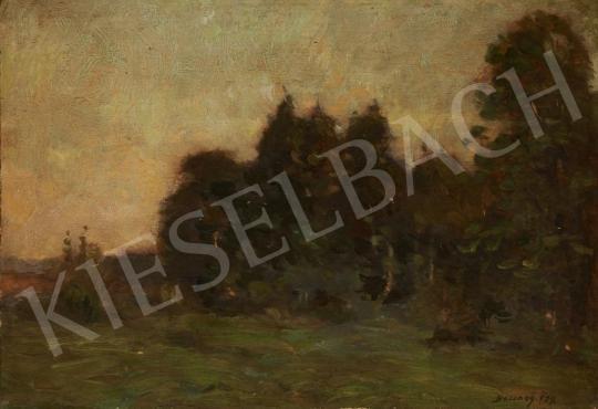 Bosznay István - Tájkép, 1929 festménye