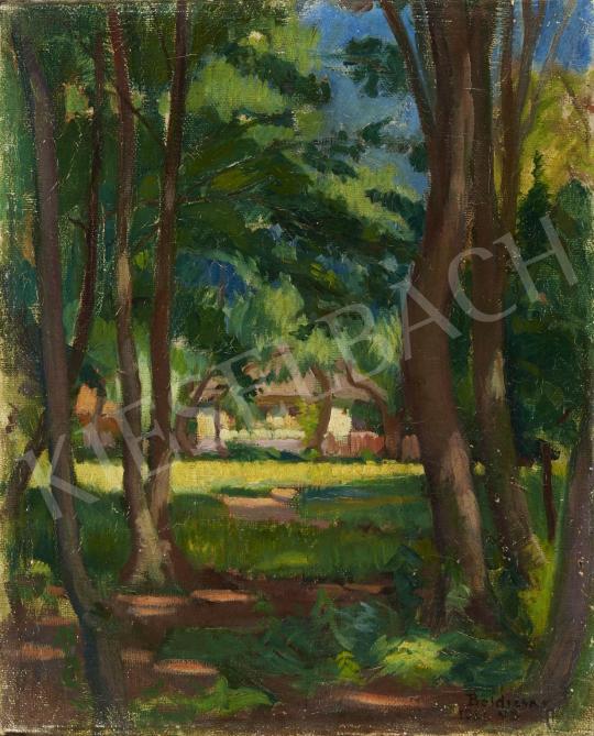 Boldizsár István - Nagybányai táj, 1921 festménye