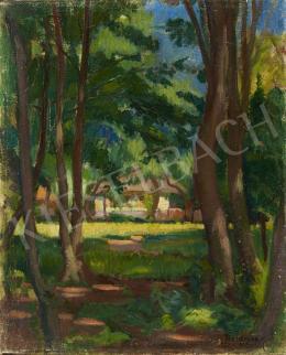 Boldizsár István - Nagybányai táj, 1921