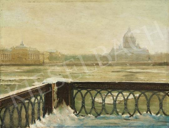 Eladó Ismeretlen festő - Szentpétervár, 20. század első fele festménye