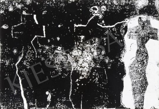 Bálint Endre - Szentendrei motívumok, 1972 festménye
