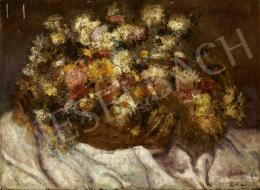 Porter Paula - Virágcsendélet, 1921