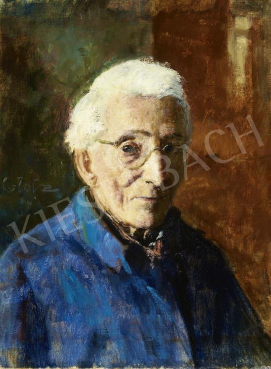 Glatz Oszkár - Önarckép festménye
