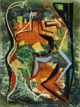 Litkey György - Táncosok, 1967