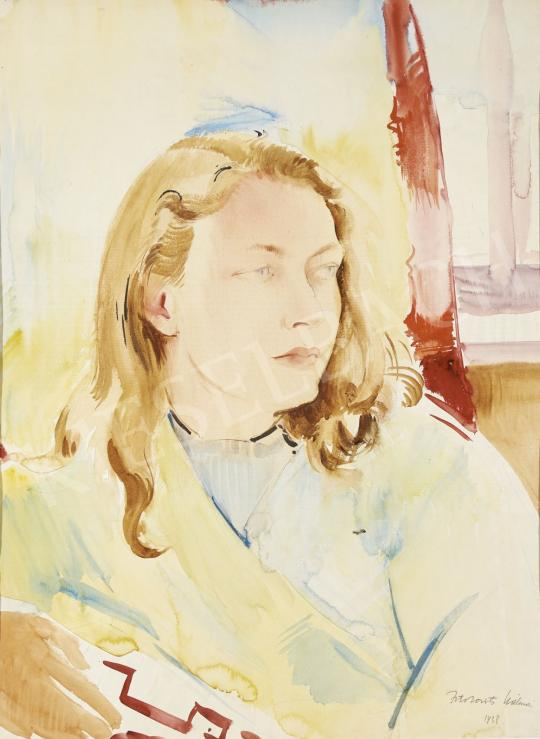 For sale  Istókovits, Kálmán - Wondering Girl, 1938 's painting