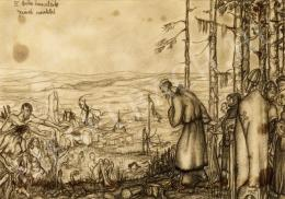 Batthyány Gyula - Történelmi jelenetek - 6 rajz