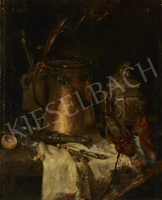 Eladó  Tornai Gyula - Műtermi csendélet, 1888 festménye
