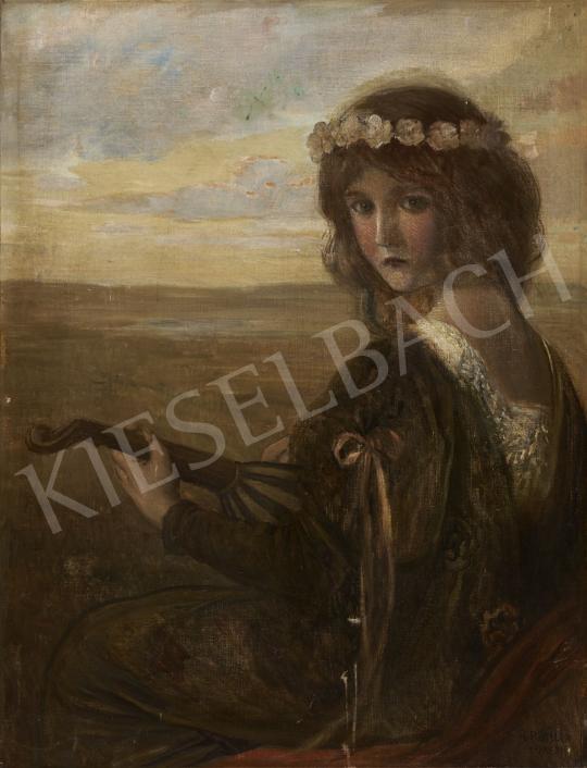 Eladó  Rössler, Rudolf - Fiatalság, 1910-es évek festménye