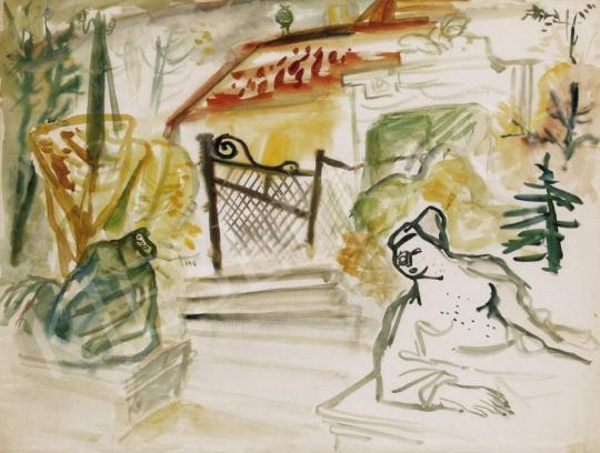 Ámos, Imre - Garden of Memories | 24th Auction auction / 67 Item