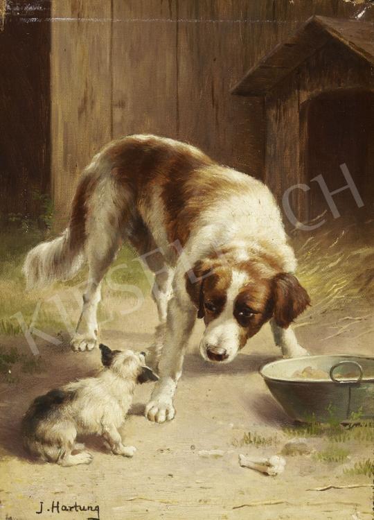 Reichert, Carl - Barátkozás festménye