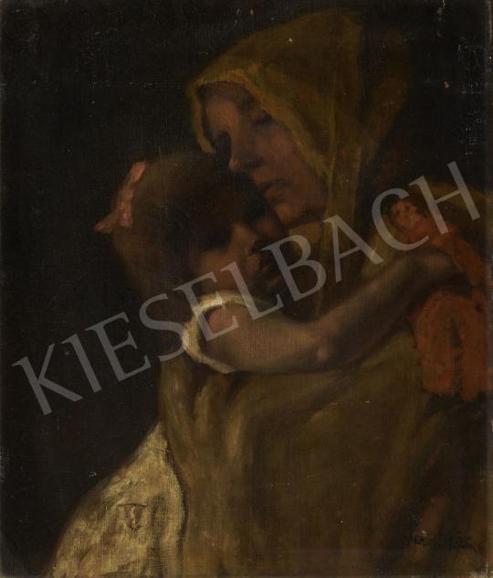 Eladó  Miklósi-Mutschenbacher Ödön - Anya gyermekével festménye
