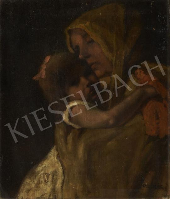 For sale  Miklósi-Mutschenbacher, Ödön - Mother and Daughter 's painting