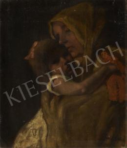 Miklósi-Mutschenbacher Ödön - Anya gyermekével