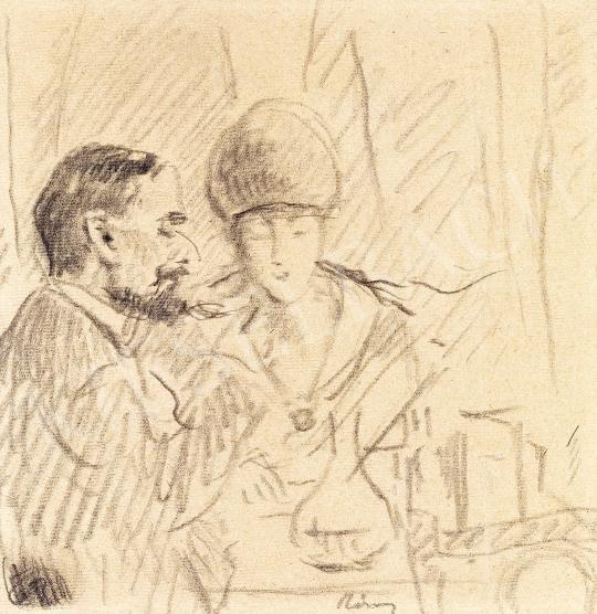 Rippl-Rónai József - Kávéházban | 53. Őszi Aukció aukció / 5 tétel