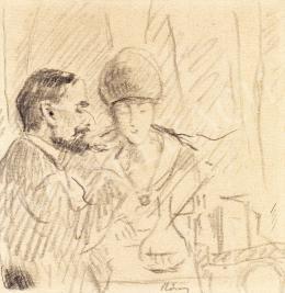 Rippl-Rónai József - Kávéházban