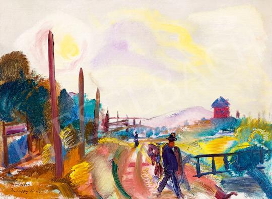 Márffy, Ödön - Sunlit Landscape | 53rd Autumn Auction auction / 12 Lot