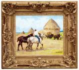 Pór Bertalan - Nyári mezőn, 1910 előtt festménye
