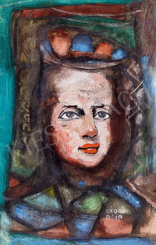 Kádár, Béla - Woman with a Kerchief | 53rd Autumn Auction auction / 26 Item