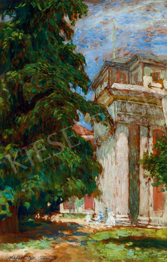 Vaszary, János - Memory from Madrid (The Portal of the Prado Museum), 1905 | 53rd Autumn Auction auction / 28 Lot