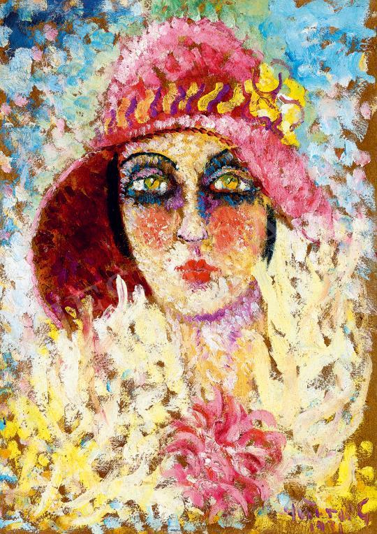 Peterdi Gábor - Párizsi lány, 1931 | 53. Őszi Aukció aukció / 29 tétel