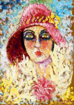 Peterdi Gábor - Párizsi lány, 1931