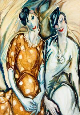 Batthyány Gyula - Két hölgy, 1930-as évek eleje