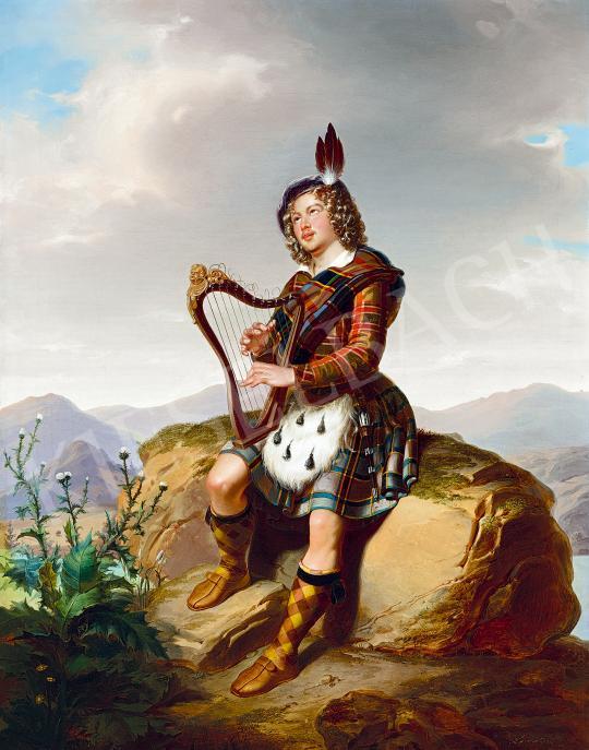 Laccataris Demeter - Skót lantos | 53. Őszi Aukció aukció / 42 tétel