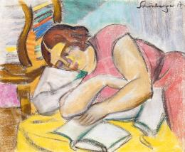 Schönberger, Armand - Reading Girl