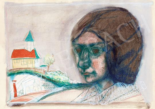 Kondor, Béla - In Memoriam Margit Kaffka, 1963 | 53rd Autumn Auction auction / 95 Item