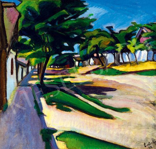 Erős Andor - Kecskeméti utca, 1913   53. Őszi Aukció aukció / 116 tétel