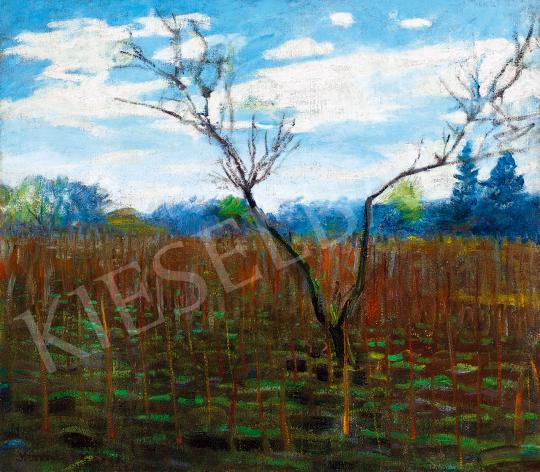 Kernstok Károly - Koratavasz, 1910-es évek eleje | 53. Őszi Aukció aukció / 137 tétel