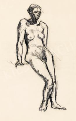 Tihanyi Lajos - Női akt, 1910 körül
