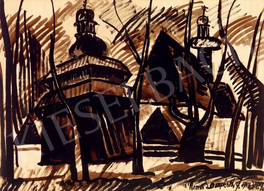 Nemes Lampérth József - Fatemplomok, 1918 | 53. Őszi Aukció aukció / 181 tétel