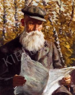 Widder, Félix - Reading Man, 1919