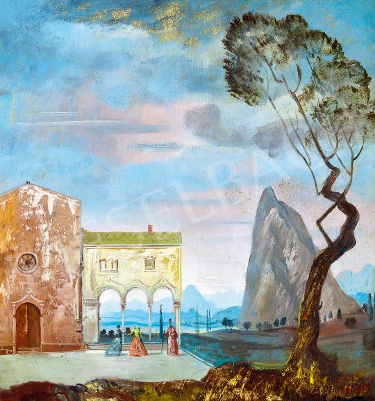 Molnár C., Pál - Italian Landscape, c. 1940 | 53rd Autumn Auction auction / 14 Lot