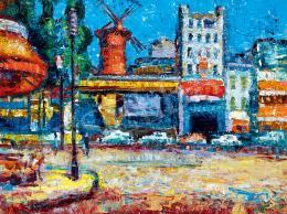 Vén Emil - Moulin Rouge (Párizs)