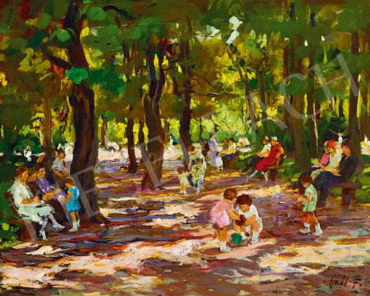 Erdélyi-Gaál, Ferenc (Francois Gall) - Sunday Afternoon in the Park | 53rd Autumn Auction auction / 23 Lot