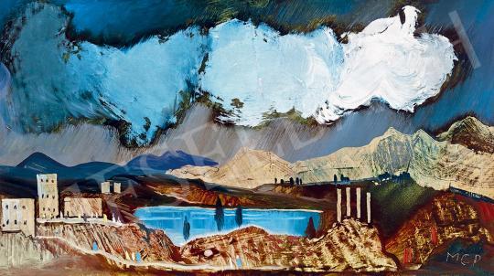 Molnár C. Pál - Szicíliai táj | 53. Őszi Aukció aukció / 96 tétel