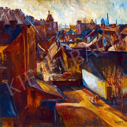 Paizs-Goebel Jenő - Nagyváros, 1928 | 53. Őszi Aukció aukció / 107 tétel