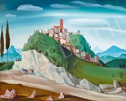 Molnár C. Pál - Itáliai táj, 1930-as évek
