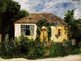 Ferenczy Károly - Műteremházam Nagybányán (Ház fák közt)