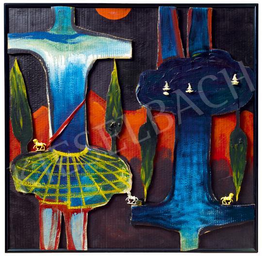 Kazovszkij, El - Két driád, 1989 | 53. Őszi Aukció aukció / 164 tétel