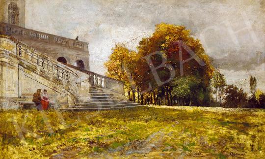 Charlemont, Hugo - Randevú a kastélyparkban | 53. Őszi Aukció aukció / 15 tétel