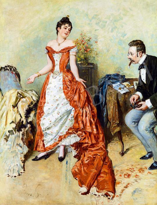 Spitzer, Emanuel (Spitzer Manó) - The New Gown | 53rd Autumn Auction auction / 43 Lot