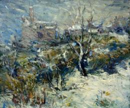 Ördögh László - Hegedűs-villa hóviharban, 1962