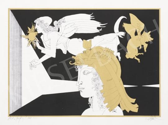 Szász Endre - Különös világ festménye